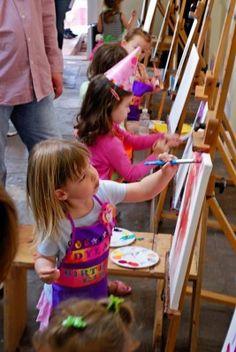 Painting classes and art studio for kids in Santa Monica