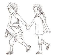 Link x Ilia (リンクXイリヤ) (Enlace x Ilia)