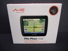 Mio Moov M301 GPS Automotive Mountable New Open Box #Mio
