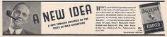 Vintage Tobacciana Advertising - Edgeworth Junior Pipe Tobacco, From Popular Science Magazine, June 1936.
