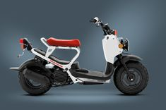 Equipped with a thrifty engine, the 2013 Honda Ruckus Scooter continues the line's reputation for great mileage at 114 MPG. Electric Motor Scooters, Electric Scooter, Honda Ruckus, Scooter Custom, Custom Bikes, Scooter Motorcycle, Gas Scooter, Scooter Parts, T Max