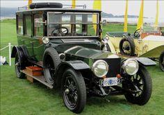 1912 Rolls-Royce Silver Ghost Hooper Limousine #RollsRoyce #cars