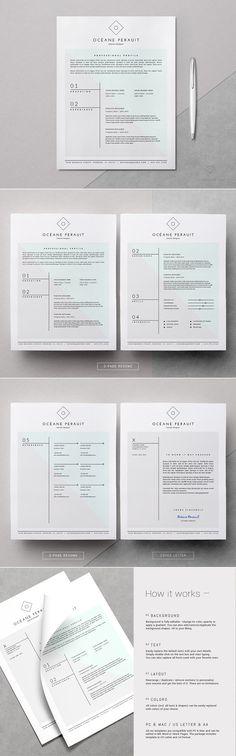 Get✖ resume makeover \ get landed! Beautiful Resume Templates - beautiful resume templates