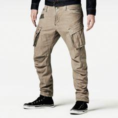 Raw correct rovic 3d loose tapered-Men-Pants-G-Star