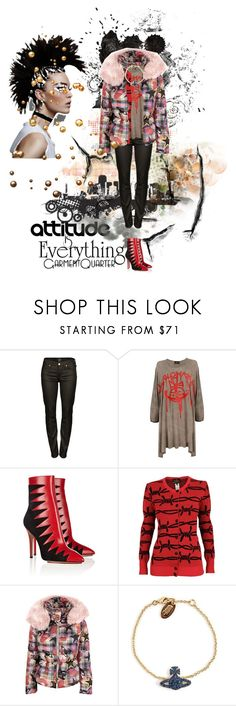 """""""Attitude Is Everything"""" by katuskas ❤ liked on Polyvore featuring Lee, Vivienne Westwood Anglomania, Charlotte Olympia and Vivienne Westwood"""