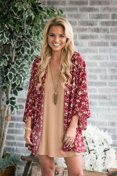 Fall Air Kimono