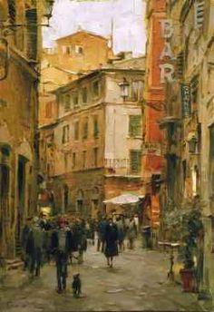Dimitri Danish - A Stroll Through the City