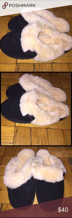 EMU Slippers Like New Black Size 8 EMU Slippers Like New Black Size 8, maybe used twice? Super cozy!!! UGG Shoes Slippers