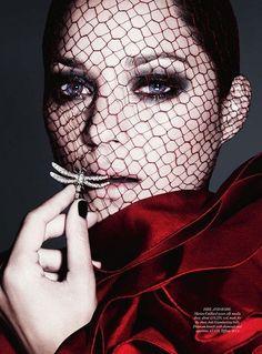 Marion Cotillard Harpers Bazar UK Décembre 2012