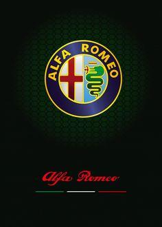 "Beautiful ""Alfa Romeo"" metal poster created by Ephraim Kibicho. Alfa Romeo Logo, Alfa Romeo Cars, Alfa Romeo Giulia, Alfa Romeo Giulietta Spider, Alfa Romeo Spider, New Audi Car, Audi Cars, Formula 1, Best Muscle Cars"