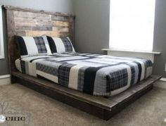 Easy DIY Platform Bed                                                                                                                                                                                 Mais