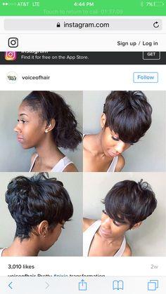 27 piece quick weave natural hair beauties pinterest quick 27 piece quick weave natural hair beauties pinterest quick weave hair style and short hair pmusecretfo Choice Image