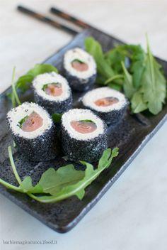 finto sushi di pancarrè
