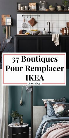 Quels sont les boutiques concurrentes à IKEA ? Explore 37 stores, stores and brands to replace IKEA. Furniture and decoration signs to know to furnish, equip, store and decorate your home. Home Design, Interior Design, Ikea Deco, Decorating Your Home, Diy Home Decor, Ceiling Decor, Home Living, Home Staging, Home Decor Inspiration