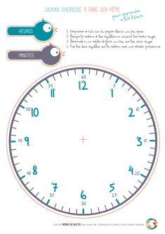 3 Horloges Fabriquer Pour Vos Lves Gomtrie