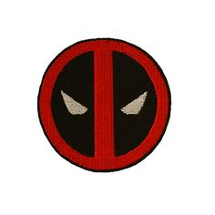 DEADPOOL bordado hierro cose en el remiendo por StitcheryComplete
