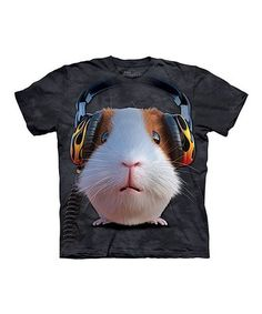 DJ Guinea Pig T-Shirt - T-Shirt with Pets - Cute T-Shirts - Animals t-shirts for women - t-shirt present idea - small pet t-shirts - t-shirts with small pets for kids - kids clothing Rock T Shirts, Tie Dye T Shirts, Tee Shirts, Cooler Stil, Big Face, Fashion Mode, Guinea Pigs, Kids Boys, Graphic Tees