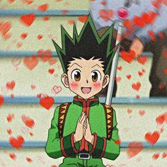 Hunter Anime, Hunter X Hunter, Heart Meme, Love Gun, Funny Anime Pics, Cute Cartoon Wallpapers, Cute Baby Animals, Anime Guys, Art Quotes