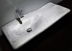 Flow designed by miGUEL HERRANZ for @NERINEA_essence | natural stone essence | exclusive | bath | design | stone beauty | bath design | living | lifestyle | bathproducts | bath | sculpture | elegant | style | sink | basin | washbasin | marble love | inspiration | natural design | creative direction and product design