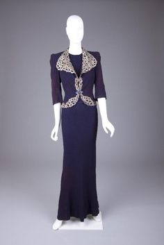 Suit    Elsa Schiaparelli, 1940    The Goldstein Museum of Design