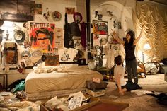 Patti Smith Play Staged at Chelsea Hotel - artnet News Dream Rooms, Dream Bedroom, Room Ideas Bedroom, Bedroom Decor, Eduardo E Monica, Chelsea Hotel, Chill Room, Grunge Room, Indie Room