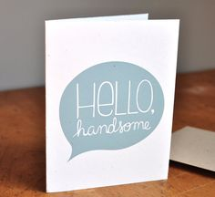 Hand illustrated card by Amy Marcella
