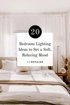 Lighting has great potential at affecting our mood, so making sure we have the best lighting for our bedrooms is key. Ahead, we share lots of bedroom lighting ideas from simple floor lamps to elaborate chandeliers.