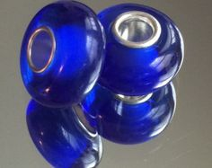Hand Crafted Murano Glass Bead 15mm To 17mm With 4mm Core 1 Bead