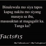 Tanga Quotes, Mr. Reklamador Facts Tagalog Love Quotes, Qoutes, Hugot, Broken Heart Quotes, Facts, Quotes, Quotations, Heartbroken Quotes, Heartbreak Quotes