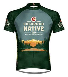 Colorado Native Beer Primal Wear Cycling jersey Mens Short Sleeve bike  bicycle Cycling Bikes 32ed1d425
