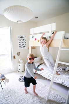 Danni Remender's Modern Kid-Friendly Home   theglitterguide.com #oeuf #oeufnyc #modernkids