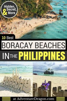 10 Best Boracay Beaches | Best Beaches in Boracay Island Philippines |  Philippines Beaches | Philippines Travel | Secret Beaches | Hidden Beaches | Best Places to Visit in the Philippines | Things to Do in Boracay #Beach #Beaches #Boracay #Philippines #Travel