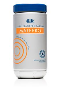 Transfer Factor® MalePro®-Description Targeted support for optimal prostate health Primary Support: Male Health* Secondary Support: Immune System, Antioxidant*-**Halal Certified 4life Transfer Factor, How To Boost Your Immune System, Cellular Level, Good Manufacturing Practice, Endocrine System, For Your Health, Transformation Body, Bottle, 4 Life