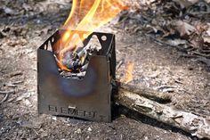 TATO Element Makes Wood Burning Enjoyable