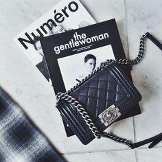 Handbag | Bag | Bolsa | Chanel | http://cademeuchapeu.com/