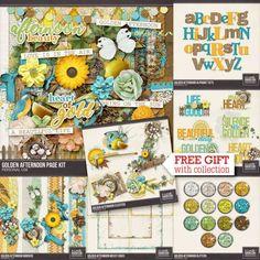 Digital Art :: Bundled Deals :: Golden Afternoon Collection