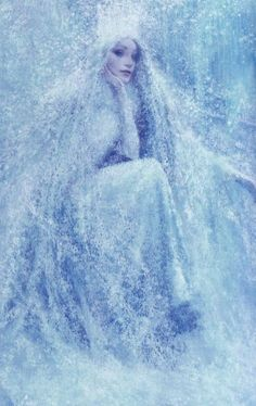 Illustration by Christian Birmingham; The Snow Queen