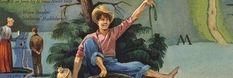 *The Adventures of Huckleberry Finn* by Mark Twain