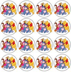 tags Winnie The Pooh Birthday, Winnie The Pooh Friends, Baby Boy 1st Birthday, Bottle Cap Projects, Bottle Cap Crafts, Bottle Caps, Pooh Bebe, Free Baby Shower Printables, Friend Crafts