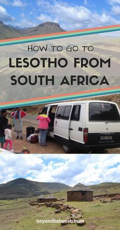 How to travel from South Africa to Lesotho independently and on public transportation. Costs, tips, and details on how to get to Lesotho from various cities in South Africa for the cheapest price! Solo Travel Tips, Ways To Travel, Travel Goals, Travel Hacks, Travel Couple, Family Travel, Africa Destinations, Koh Tao, Florida Travel