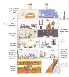 French Touch I Parisian life Paris Illustration, Illustrations, French Teacher, Teaching French, How To Speak French, Learn French, My Little Paris, French Education, Love