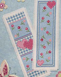 Heart Medley Bookmark Cross Stitch Kit by Twilleys of Stamford