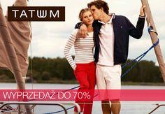 Rozpoczęła się wyprzedaż w sklepie Tatuum. Wybrane modele z kolekcji wiosna/lato 2013 można kupić nawet 70% taniej! Zapraszamy.