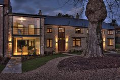 The development was designed to promote a sense of community and it succeeds on every level. #architecture #england #glazing #rural #glasswindows #cantifix