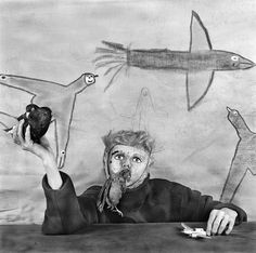 "Welcome to the Asylum — the latest surreal photographic compositions by the American master of psychologically disturbing, multi-layered complex imagery. 20 new photos in a slideshow, plus a ""making-of"" video.  © Roger Ballen"