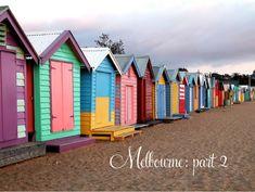 Brighton beach on the Mornington peninsula - melbourne australia. Happy day with the rellies Brighton Beach Melbourne, Melbourne Australia, Melbourne Tourism, London Brighton, Melbourne Victoria, Wow Travel, British Seaside, British Summer, St Kilda