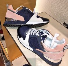 I love these on my feet! Cute Sneakers, Casual Sneakers, Cute Shoes, Just Keep Walking, Louis Vuitton Sneakers, High End Shoes, Baskets, Sneaker Heels, Dream Shoes