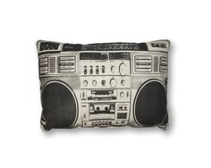 Image of Boombox Pillow