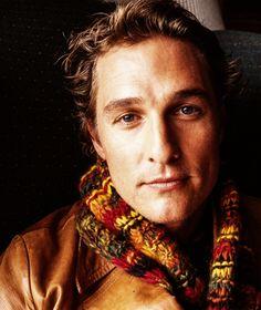 Matthew McConaughey photographed by Henny Garfunkel at the Sundance Film Festival, 2002