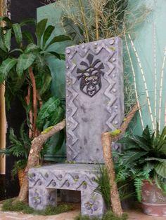 King Louie's Throne from Jungle Book Kids, St. Patrick School, Louisville, KY nov 2014